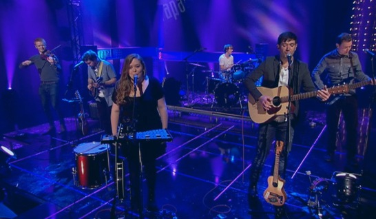 Have Mercy Las Vegas performing on the BBC Alba programme, Rapal.