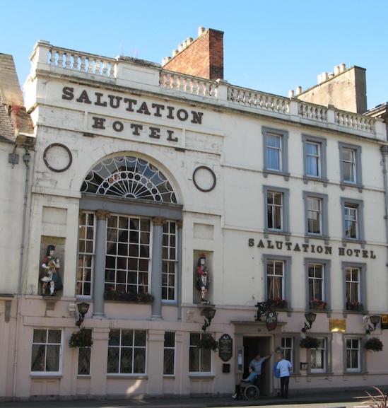 Salutation Hotel publicity photo