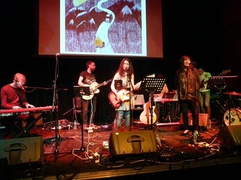Emma Pollock Donna Maciocia & band